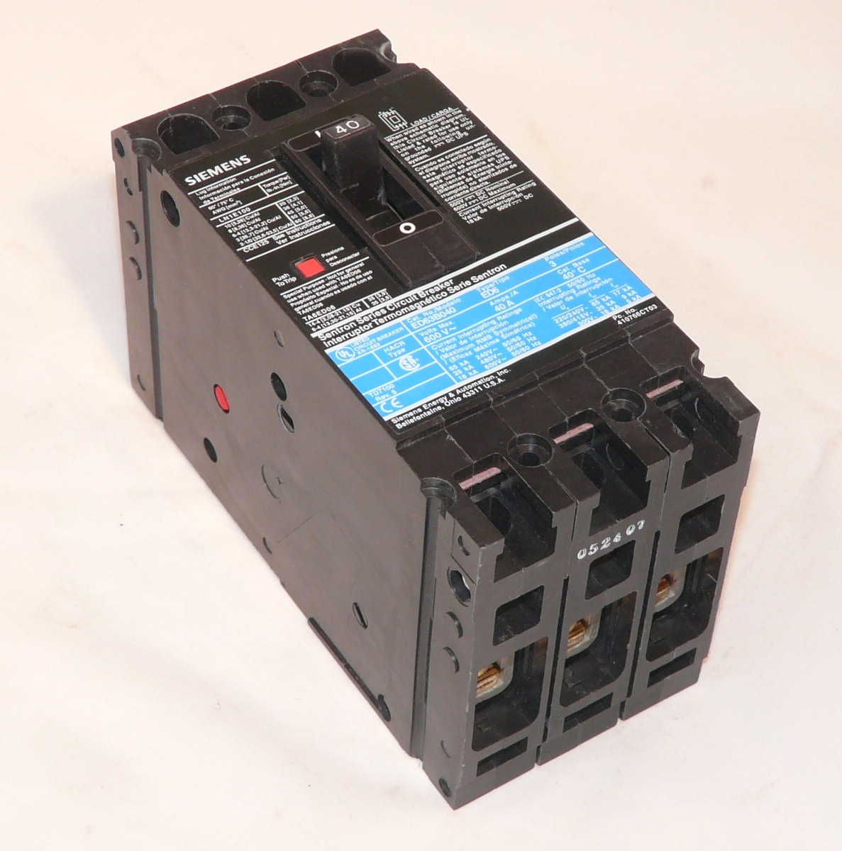 ed43b100 siemens circuit breaker new used and obsolete rh westcoastpower com