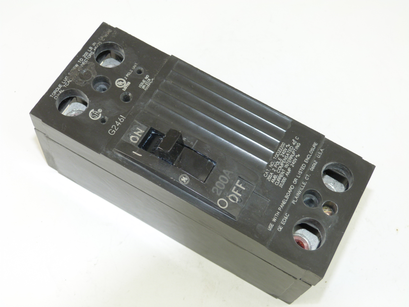 General Electric TQD22200WL  Circuit Breaker