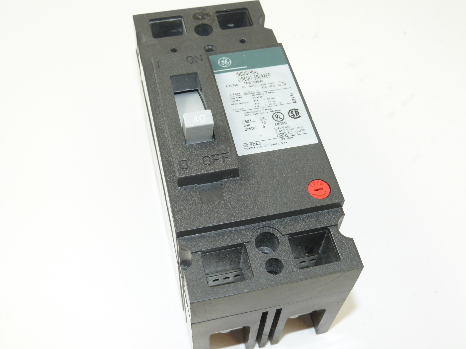 Crouse Hinds Circuit Breaker Replacement Guide And Troubleshooting Zinsco Breakers New Used Obsolete Breakerconnection General Electric Lighting Contactors Panel Boards Motor Control Other Bus