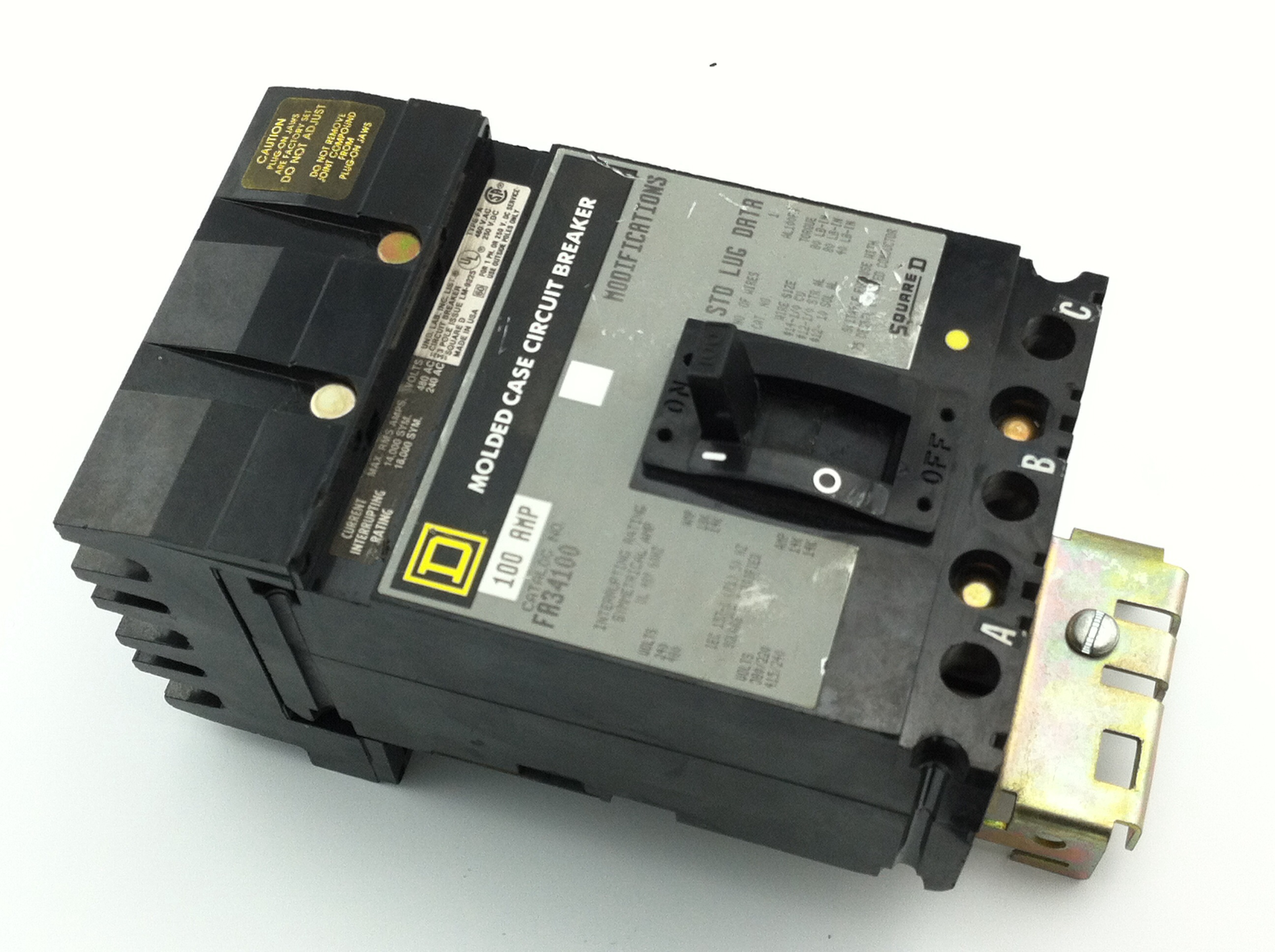 Square D FA34100  Circuit Breaker