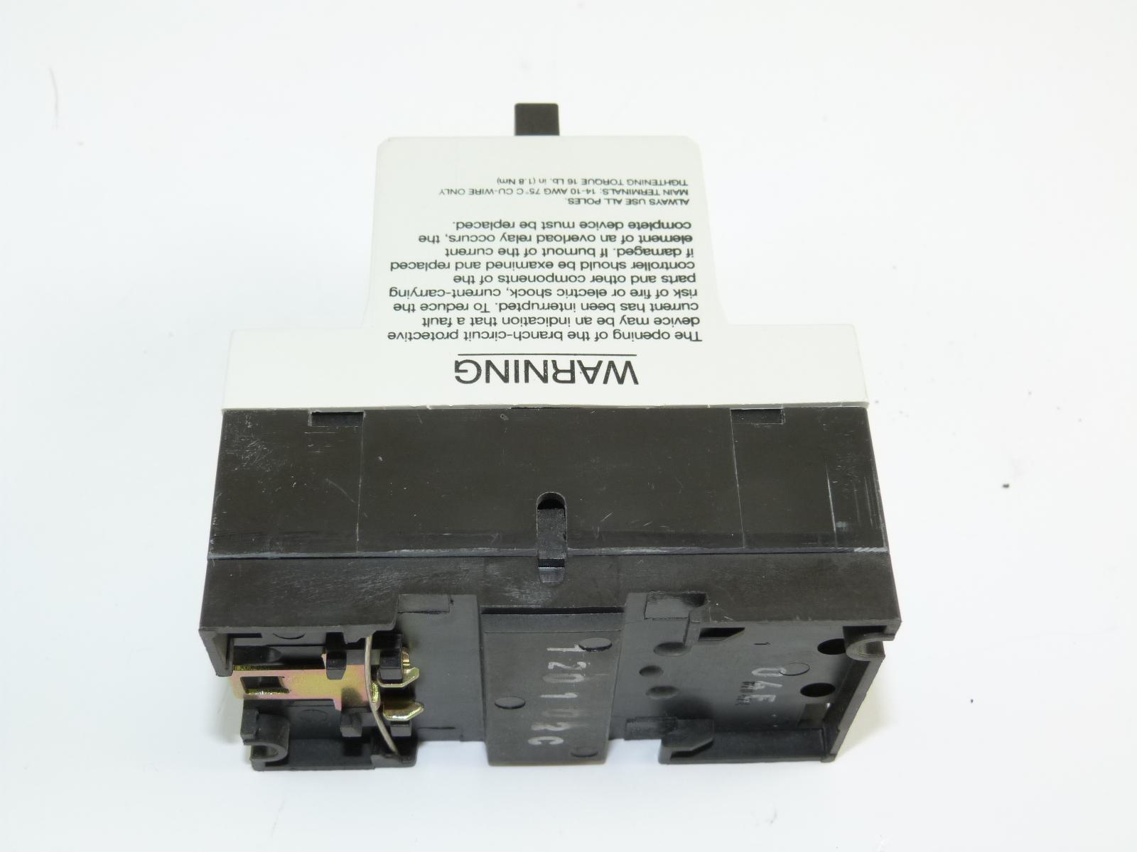 Cutler Hammer A302gn Manual Motor Starter Used Ebay