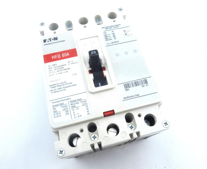 Cutler Hammer HFD3020L  Circuit Breaker