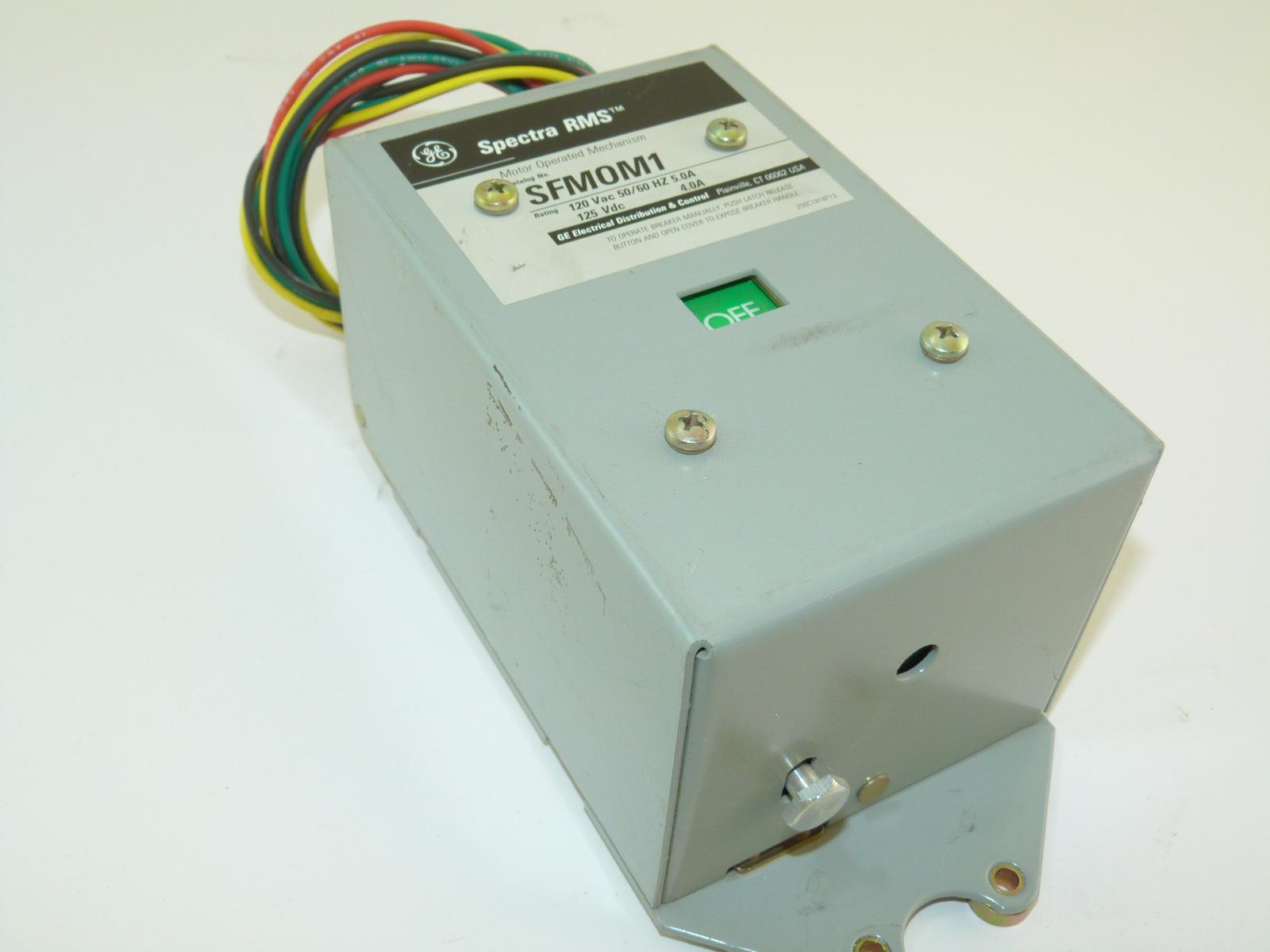 General Electric Circuit Breakers Lighting Contactors Panel Electrical Sfmom1 Breaker