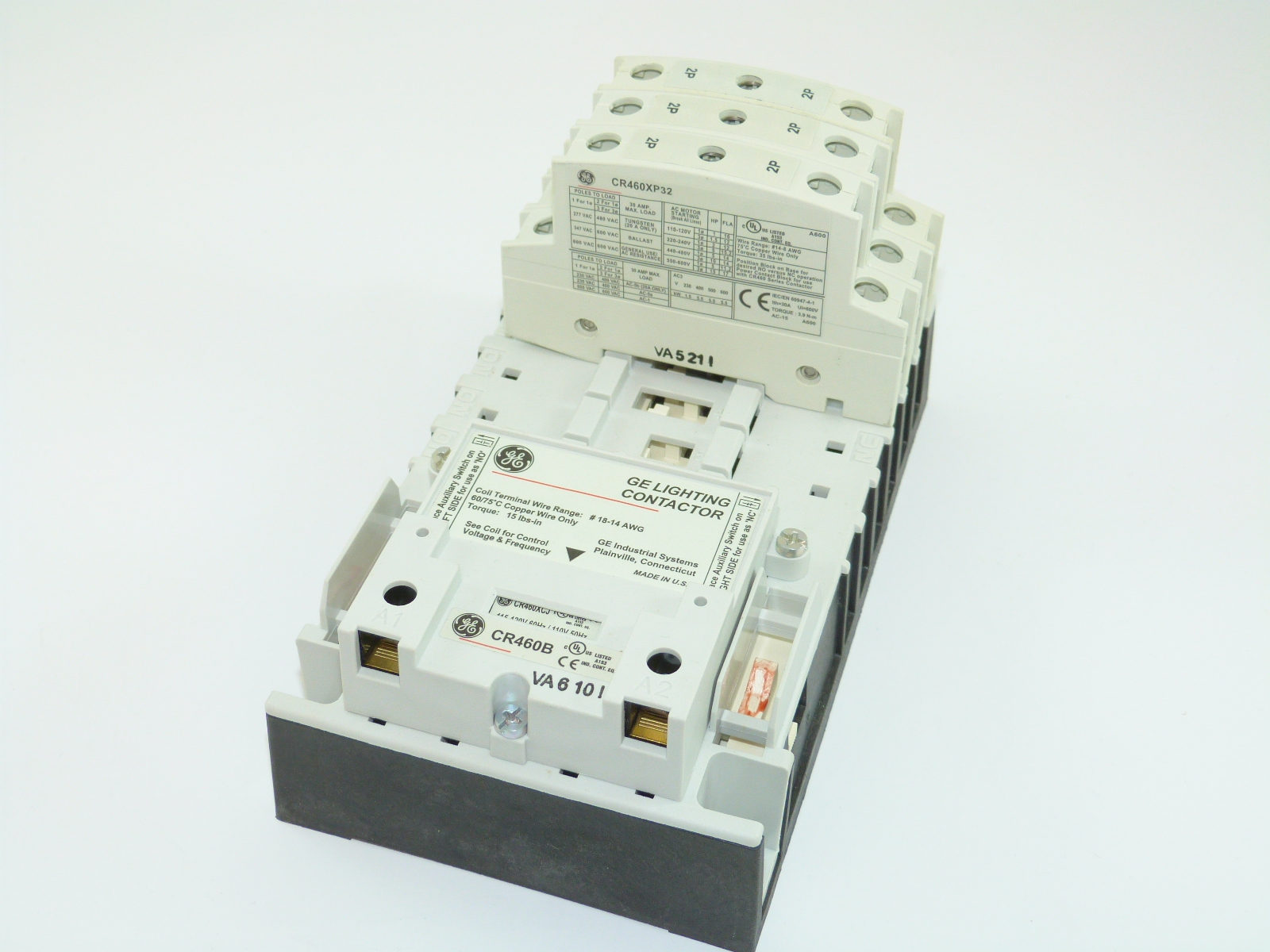 General Electric CR463L60AJA  Lighting Contactor